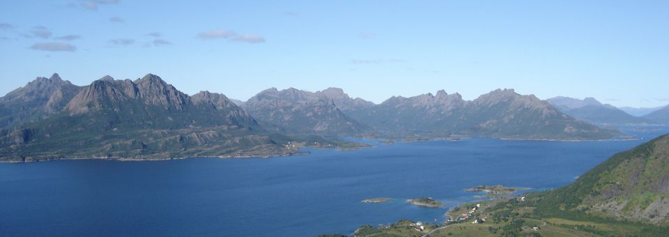 Views from Eidsfjorden - Summer